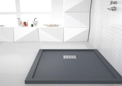 Plato de ducha con marco